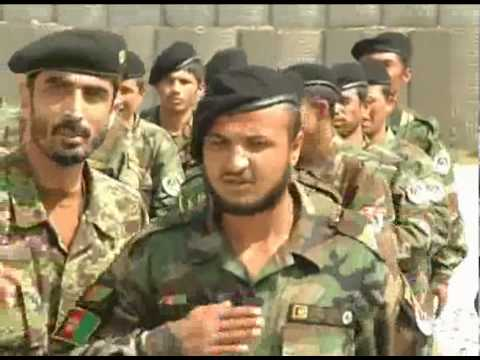 Afghan National Army MP Academy Graduation