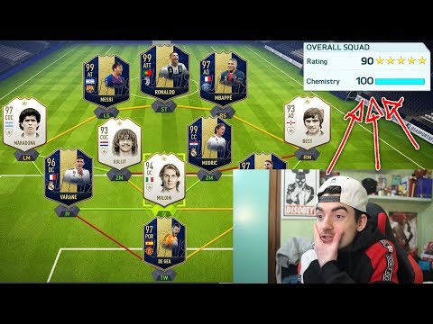 IL MIO NUOVO RECORD !!! 191 RATED FUT DRAFT CHALLENGE !!! FIFA 19 ULTIMATE TEAM ITA