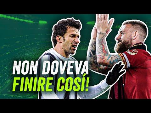 Quando l'addio di un calciatore lascia l'amaro in bocca: 10 finali tristi, da De Rossi a Maldini