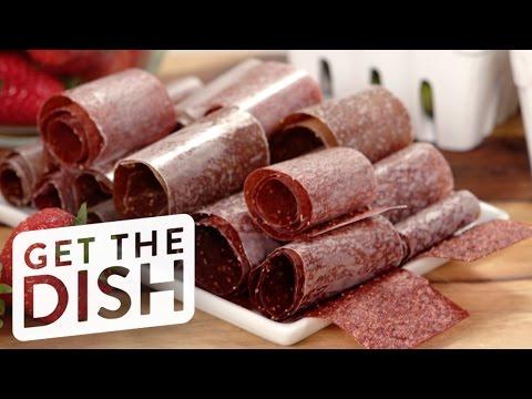 DIY Fruit Roll-Ups | Get the Dish