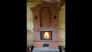 🔥🔥🔥Двухэтажная печь в деревянном доме 🔥🔥🔥