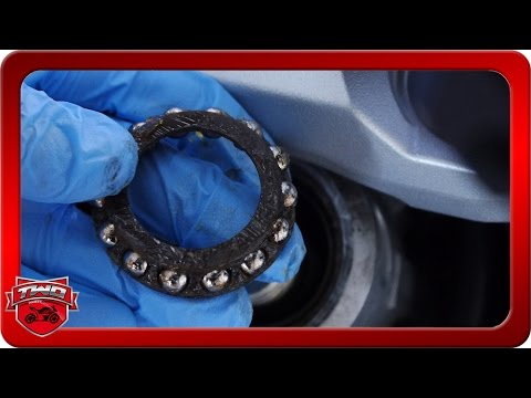 How To Service And Pack Steering Bearings Yamaha FJR1300