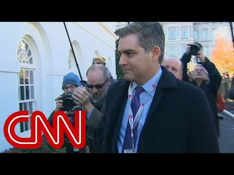 CNN asks for emergency hearing after WH warns it may revoke Acosta's press pass again