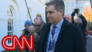 CNN asks for emergency hearing after WH warns it may revoke Acosta's press pass again thumbnail