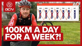 I Cycled 100km Every Day For A Week & This Is What Happened!