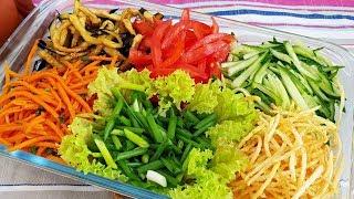 ОБАЛДЕННЫЙ салат из Баклажан по Корейски ☆ Баклажонли салат корейсча усулида