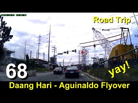Road Trip #68 - Daang Hari - Aguinaldo Flyover Update and Traffic Situation (Dec 2016)