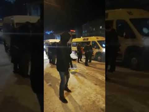 Новосибирск. Инцидент на Студенческой.