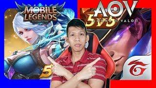 Bagusan Mana Sih ? Mobile Legends Atau Arena Of Valor (AOV)