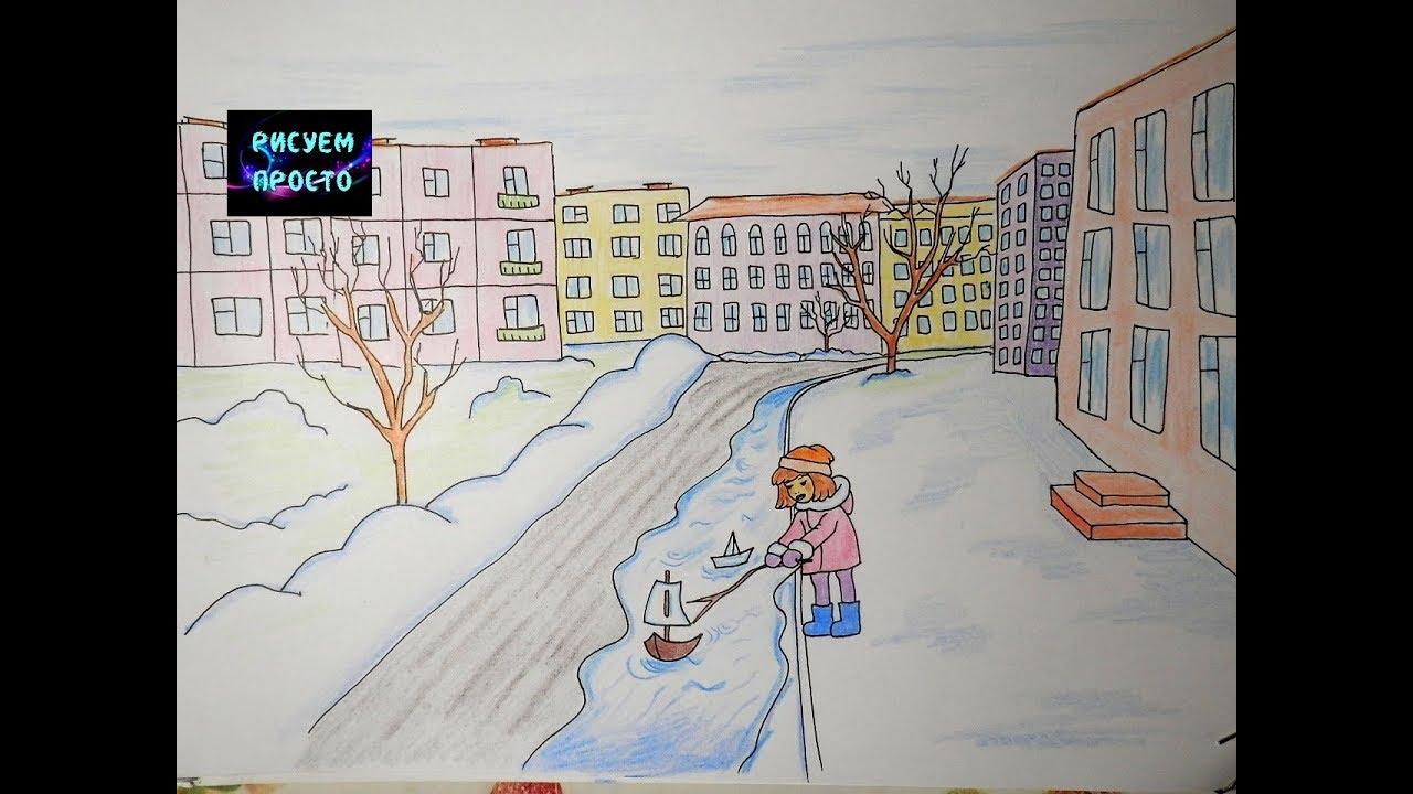 кадре картинки на тему город весной три фирмы, одни