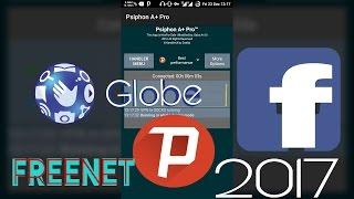 Globe FreeNet using Psiphon (Facebook proxy)