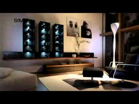 simia contemporary lacquered high sideboard by h lsta youtube. Black Bedroom Furniture Sets. Home Design Ideas