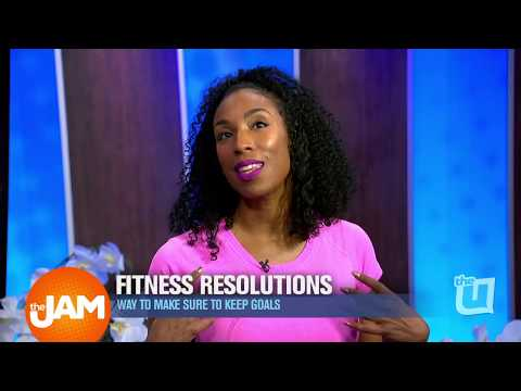 Fitness Resolutions: Ways to Keep Goals with Ashanti Johnson