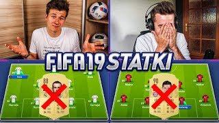 BALE USUNIĘTY ZE SKŁADU!? FIFA 19 STATKI | ADRYAN VS ZWYKŁY KIBIC