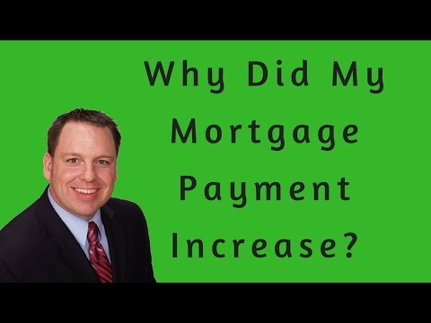 Why Did My Mortgage Payment Increase When My Home Loan Interest is Fixed?