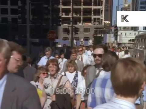 1990s America, Chicago, Street Scene