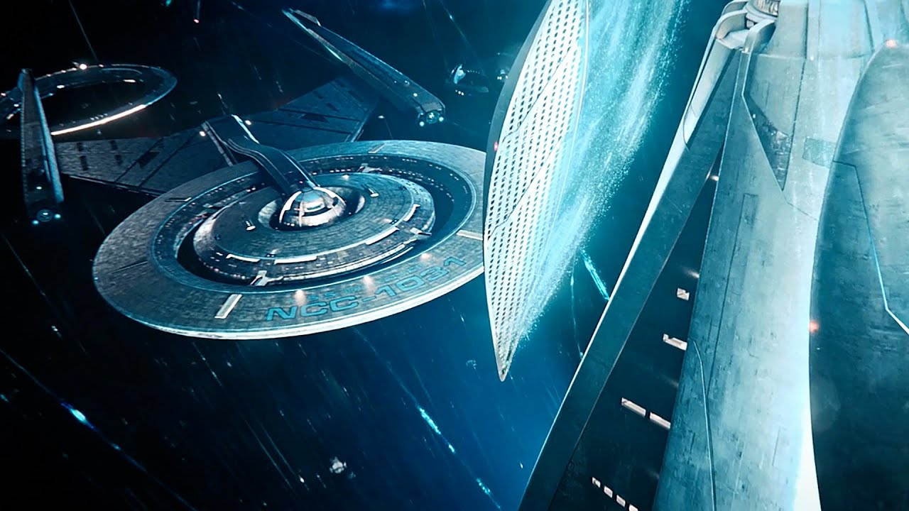 Download USS Discovery Arrives At Starfleet Headquarters - Star Trek Discovery 3x05