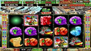 The Elf Wars™ online slot by RTG video preview(Watch awesome The Elf Wars slot game by RTG video preview. PLAY NOW: http://www.slotozilla.com/free-slots/the-elf-wars., 2015-09-01T11:25:22.000Z)