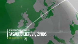 Lrt Lituanica Pasaulio Lietuvių žinios Nuo Spalio 1 D Bendras Anonsas