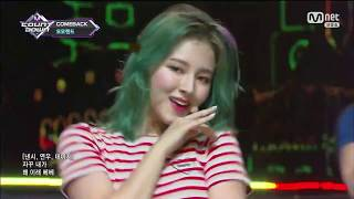 180628 MOMOLAND (모모랜드) - Only One You & BAAM @ Mnet M!Count Down (1080p 60fps)