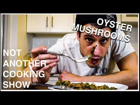 CHUCK'S MUSHROOM CHICKEN DINNER (ONE POT MEAL W/ OYSTER MUSHROOMS)