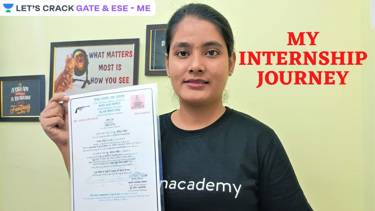My Internship Journey   Ordinance Factory   How to Apply?   Complete Detail   Lamiya Naseem