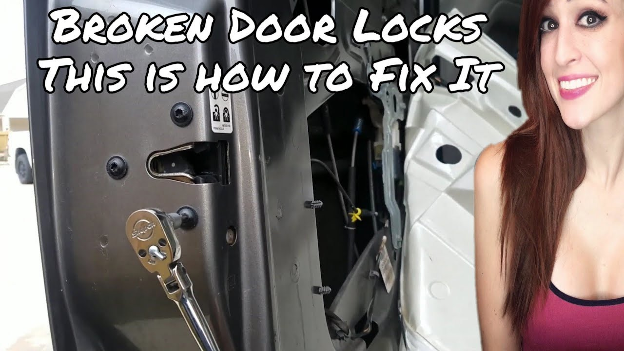 Replacing Door Lock Actuator Motor Chevrolet Gmc Pickup Truck Suv Ls Door Locks Not Working Youtube
