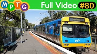 Melbourne's Trains and Trams Mix (Full Video #80)