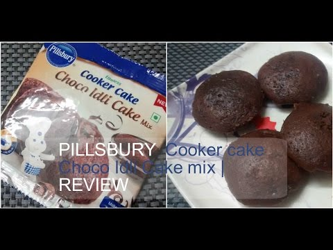 PILLSBURY choco IDLI CAKE mix REVIEW | Cooking with LA  🐇