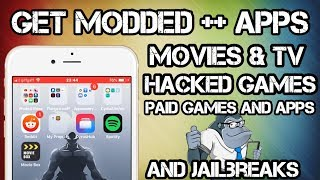 GET MODDED APPS AND GAMES FREE / Movies, TV, Hacked & paid Games and Apps on iOS no Jailbreak or PC!