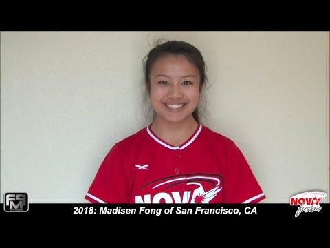2018 Madisen Fong Speedy Slapper, Second Base and Outfield Softball Skills Video  Nova Fusion