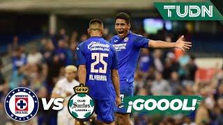 ¡Gool de Cruz Azul! Luis Romo se estrena | Cruz Azul 3 - 0 Santos | Liga Mx - CL 2020 J3 | TUDN