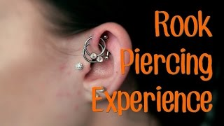 NEW PIERCING! | My Rook Piercing Experience!