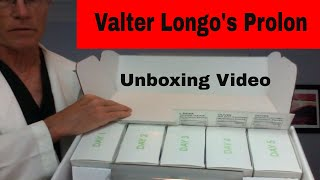 How to lose weight - Fasting's Easy Button; Valter Longo's Prolon - an unboxing video, T2DM, MTOR