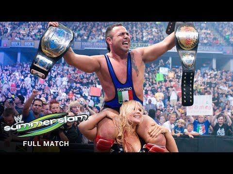 FULL MATCH - Kofi Kingston & Mickie James vs. Glamarella: SummerSlam 2008