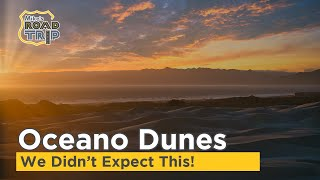 We didn't expect this at Pismo Beach and Oceano Dunes