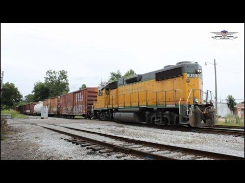 GTRA 810 Leading Westbound Manifest Long Hood Forward-Columbus, Mississippi