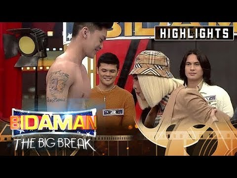 Jervy delos Reyes shows off his abs | It's Showtime BidaMan