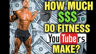 How Much Are YouTubers Making? Income Explained! Athlean-x, Kenny KO, Nick Strength Power, Me