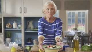 Mary Berry's Watermelon, Feta Cucumber & Mint Salad (the Herb Garden)