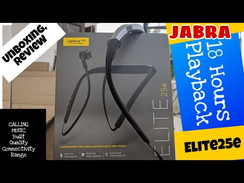 Jabra Elite 25E Bluetooth Unboxing, Review & GIVEAWAY || 18 Hours Battery || Google & Siri Support🔥