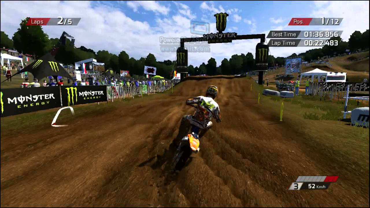 MXGP official motocross video game (PC) online gamplay Ernée