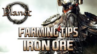 Elder Scrolls Online (ESO)  - Iron Ore Farming Location (Aldmeri Dominion)