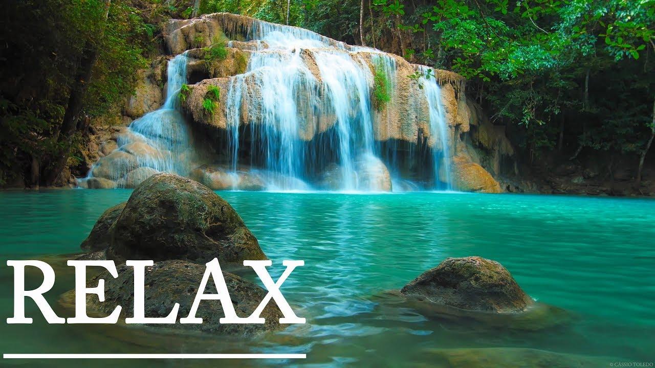 relaxation waterfall music