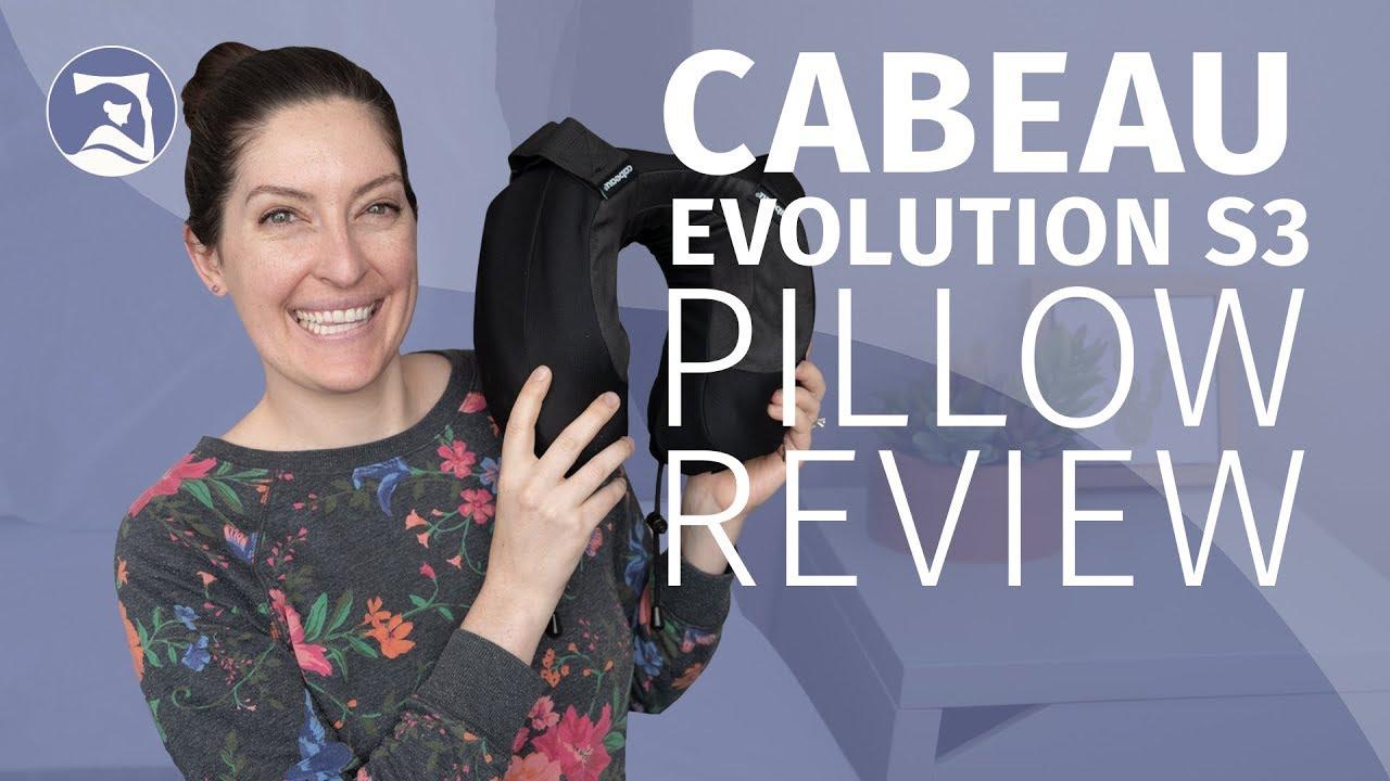 cabeau evolution cool travel pillow