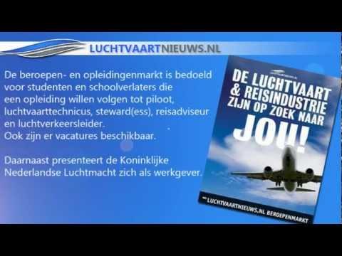 24 September 2011: Opleidingen- En Beroepenbeurs Voor De Luchtvaart- En Reisindustrie.