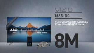 """All-New 2016 VIZIO M65-D0 SmartCast™ M-Series 65"""" Class Ultra HD HDR // Full Specs Review  #VIZIO"""