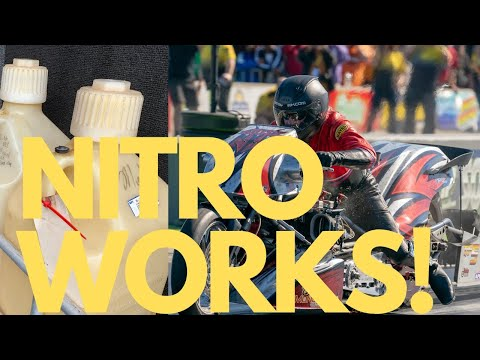WHY TOP FUEL DRAG RACERS USE NITRO! NITROMETHANE EXPLAINED BY NHRA MOTORCYCLE DRAG BIKE TEAM