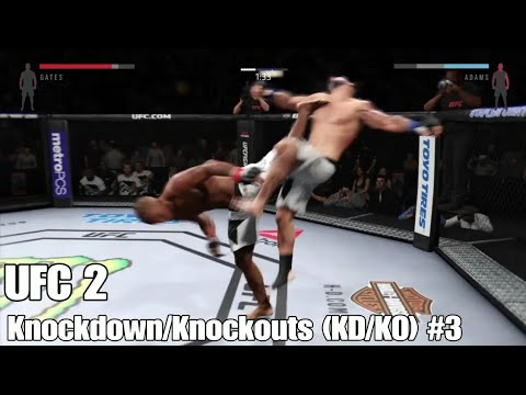UFC 2: Knockdown/Knockouts (KD/KO) #3