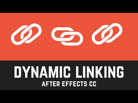 T018 Dynamic Object Linking in After Effects